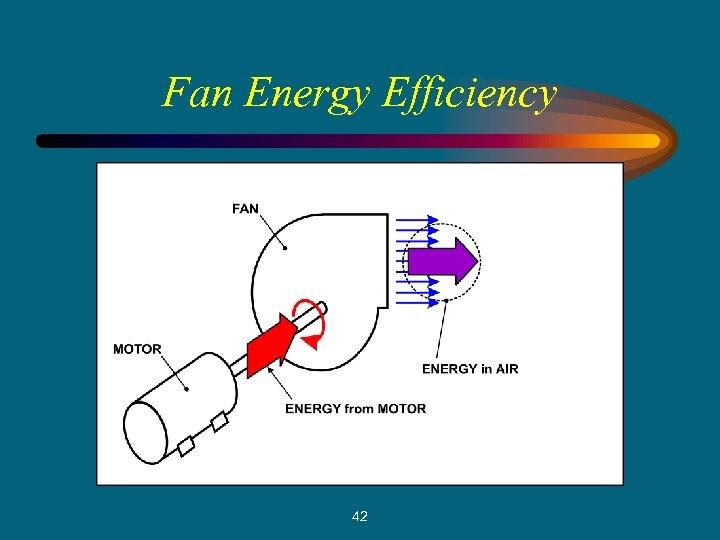 Fan Energy Efficiency 42