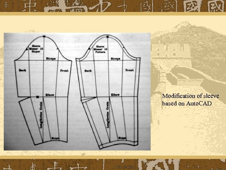 Modification of sleeve based on Auto. CAD