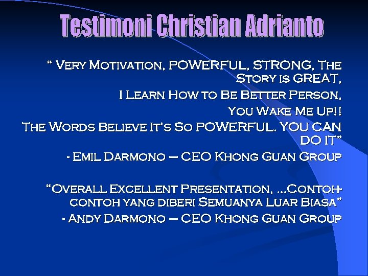 """"""" Very Motivation, POWERFUL, STRONG, The Story is GREAT, I Learn How to Be"""