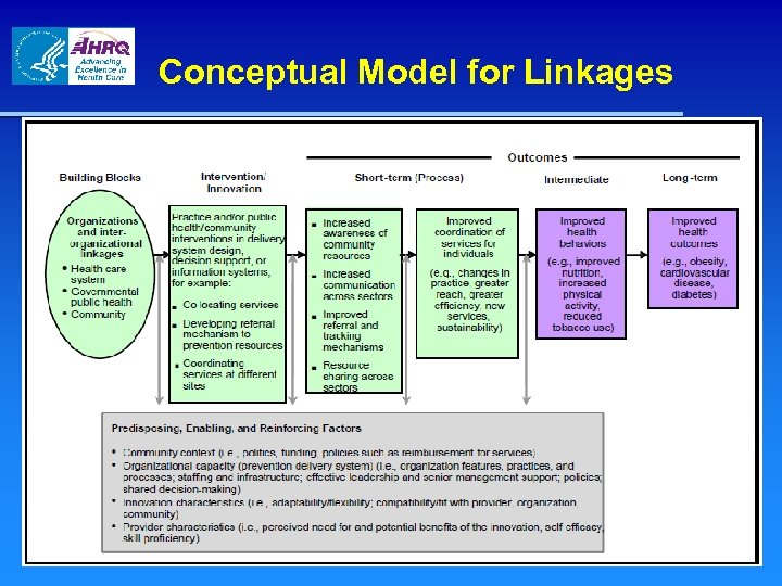 Conceptual Model for Linkages