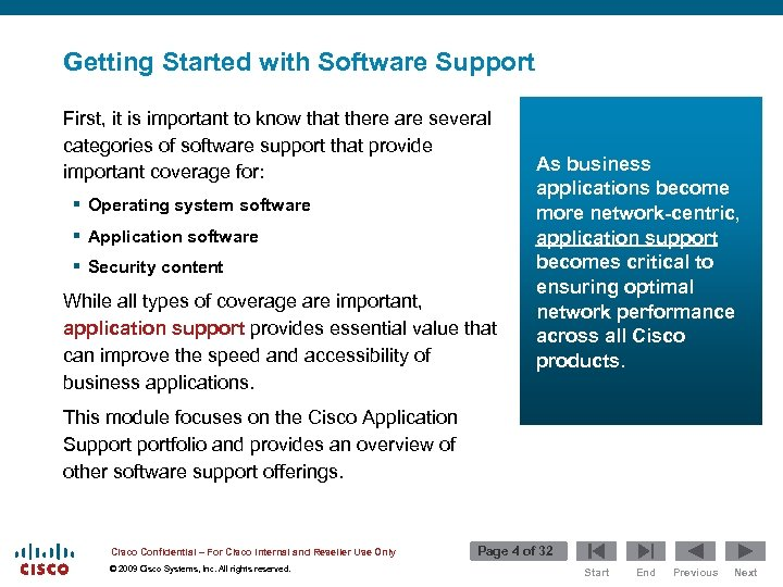 Getting Started with Software Support First, it is important to know that there are