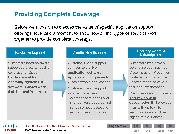 Providing Complete Coverage Before we move on to discuss the value of specific application