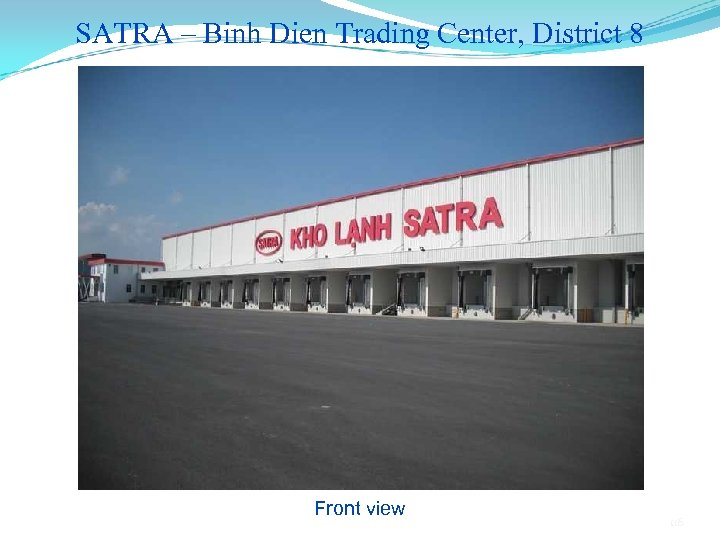 SATRA – Binh Dien Trading Center, District 8 Front view 116