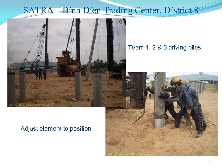 SATRA – Binh Dien Trading Center, District 8 Team 1, 2 & 3 driving