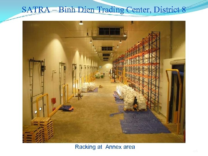 SATRA – Binh Dien Trading Center, District 8 Racking at Annex area 126