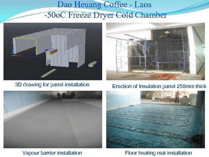 Dao Heuang Coffee - Laos -50 o. C Freeze Dryer Cold Chamber 3 D