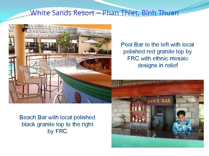 White Sands Resort – Phan Thiet, Binh Thuan Pool Bar to the left with