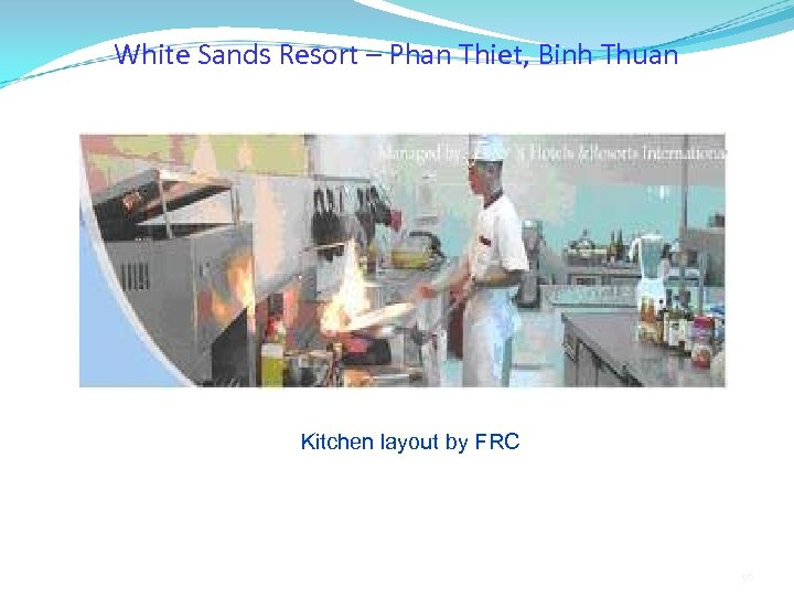 White Sands Resort – Phan Thiet, Binh Thuan Kitchen layout by FRC 56