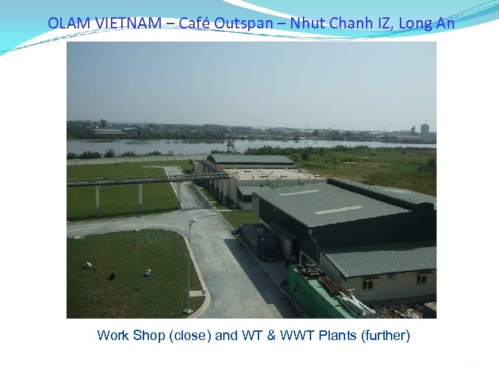 OLAM VIETNAM – Café Outspan – Nhut Chanh IZ, Long An Work Shop (close)
