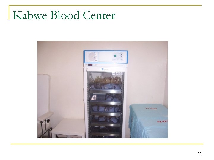 Kabwe Blood Center 25