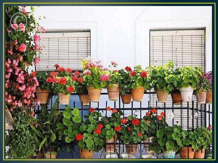 Маленький балкон - секреты оформления небольшого пространств.