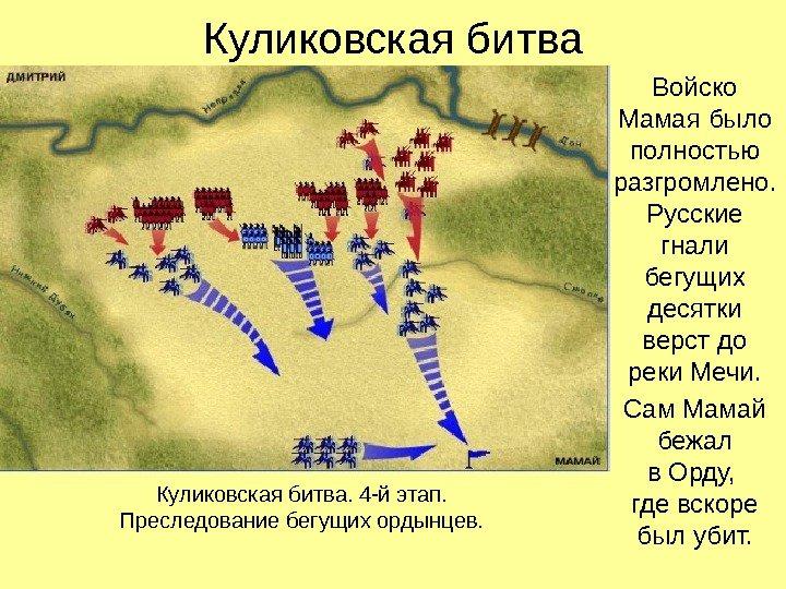 Какие цели ставил мамай вторгаясь в русские земли