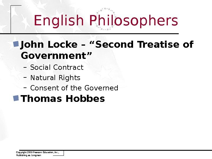 "English Philosophers John Locke – ""Second Treatise of Government"" – Social Contract – Natural Rights –"