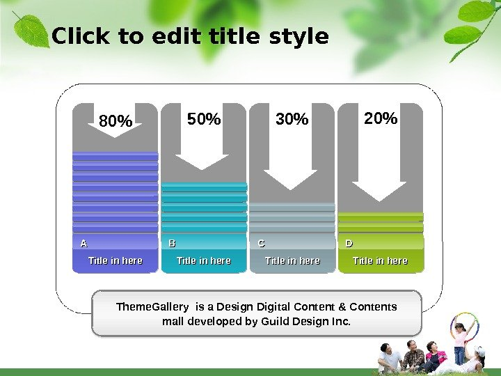 Click to edit title style Theme. Gallery is a Design Digital Content & Contents mall developed