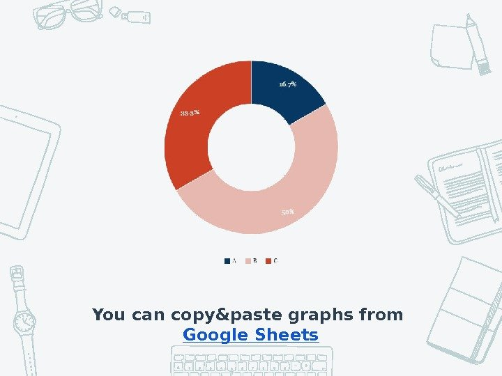 You can copy&paste graphs from Google Sheets