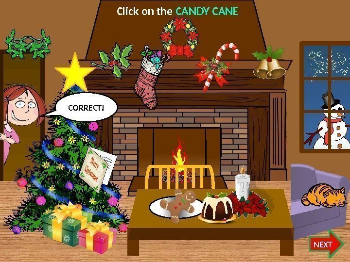 Click on the CANDY CANE NEXTCORRECT!   07