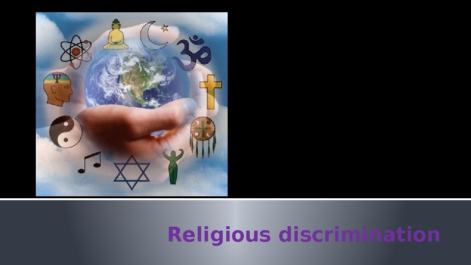 religious descrimination Taking action about discrimination on the grounds of religion or belief, explaining when it is unlawful or not unlawful and organisations which can help.