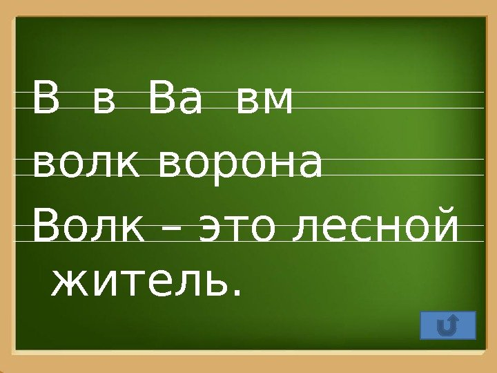 Pro. Power. Point. R u В в Ва вм волк ворона Волк – это