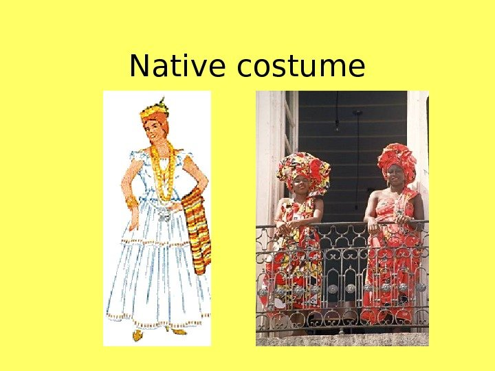 Native costume