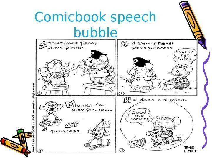 Comicbook speech bubble