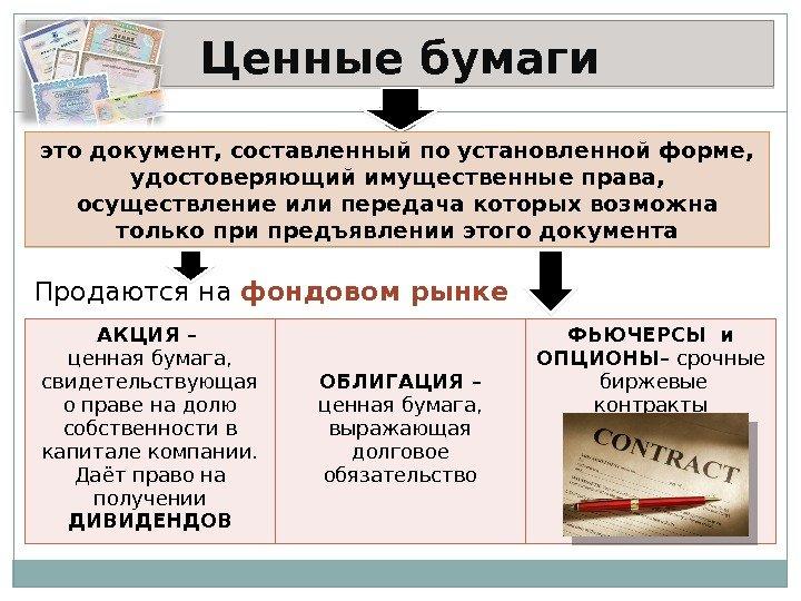 Опцион Эмитента Документарная Ценная Бумага