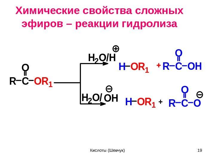 Центральный сложные эфиры химические реакции том как осуществляется