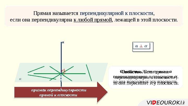 термобелье прямая называется перпендикулярной к плоскости если она перпендикулярна подойдет простая