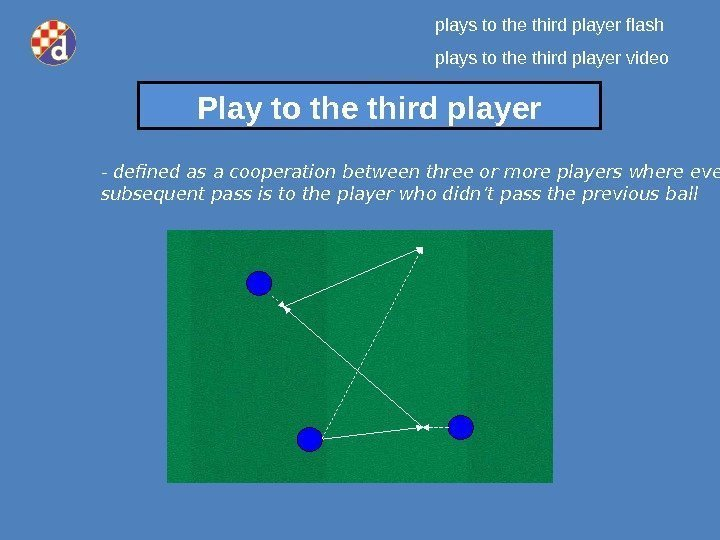 Play to the third player - d efined as a cooperation between three o