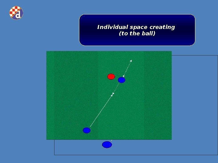 Individual space creating (to the ball)