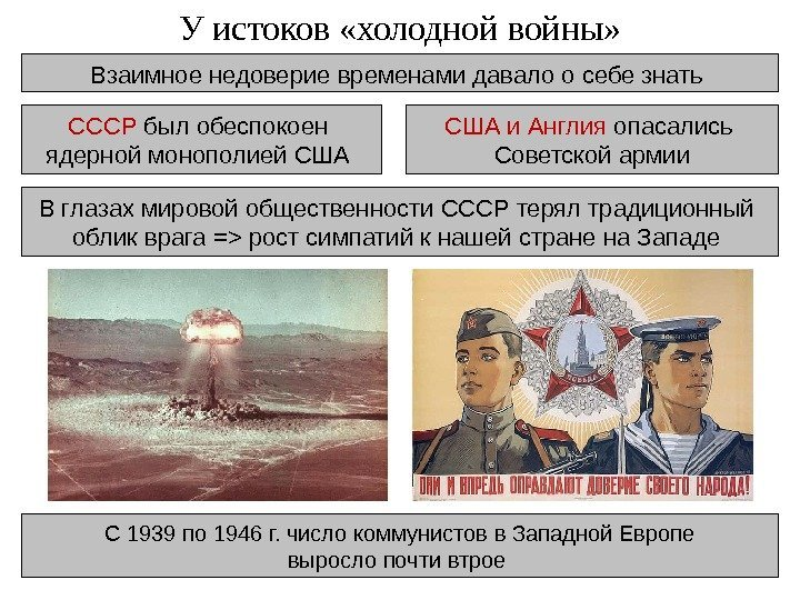 nuclear monopoly of the united states and soviet union after 1945 Barely four years after the united states dropped two atomic bombs on japan in august 1945, the soviet union detonated its own in august 1949, much sooner that expected.