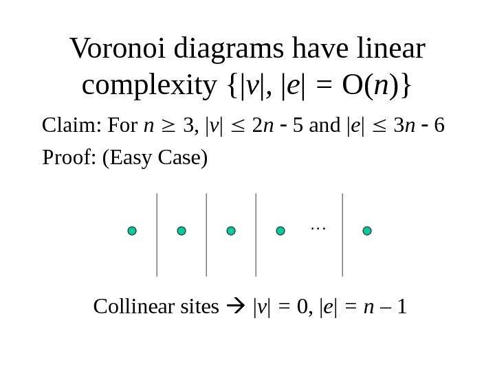 Lecture 7  Voronoi Diagrams Presented By Allen