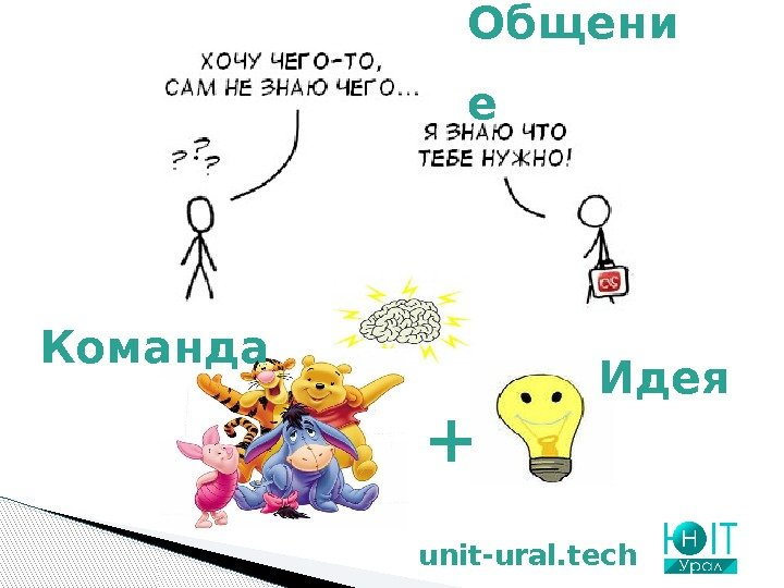 unit-ural. tech Общени е Идея +Команда