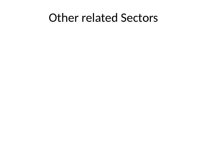 Other related Sectors