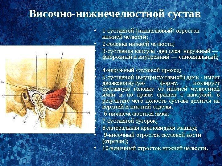 дисфункция челюстного сустава причины