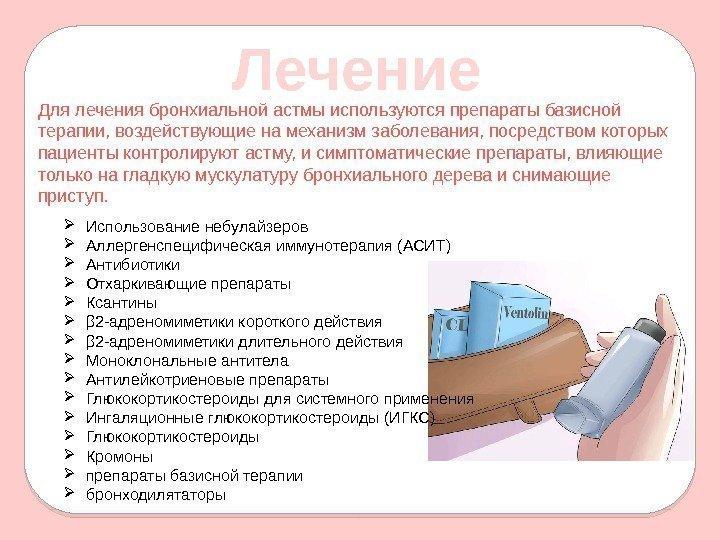 Астма чем лечить в домашних условиях