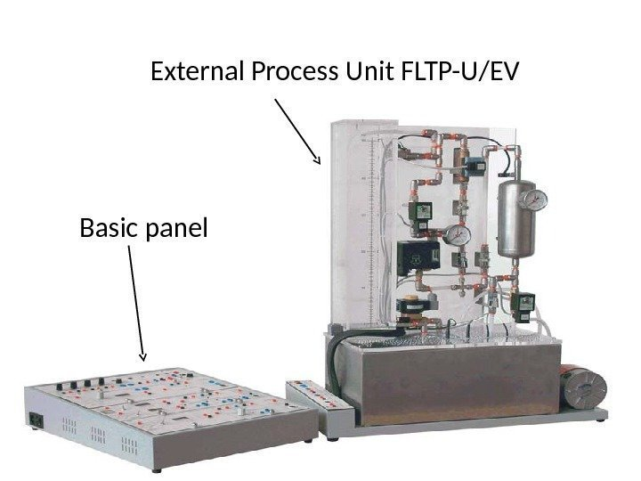 External Process Unit FLTP-U/EV Basic panel
