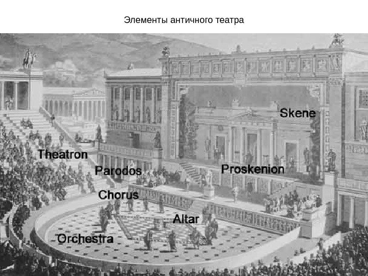 the history of theatre and plays in the greek theater
