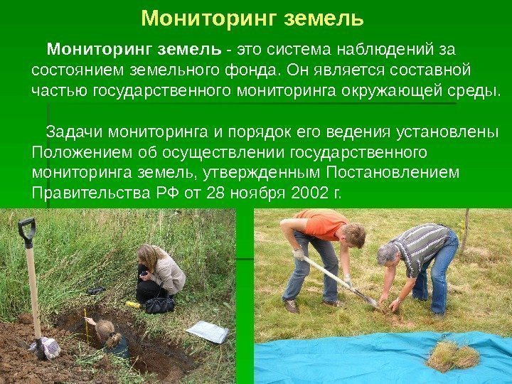 Мониторинг загрязнения почв реферат 5390