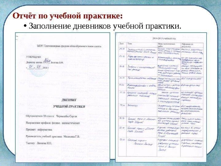 Отчет по практике ип магазин пример ziver russia ru Отчет по учебной практике менеджмент Блог им reniquecotasyl Блоги о промышленности на