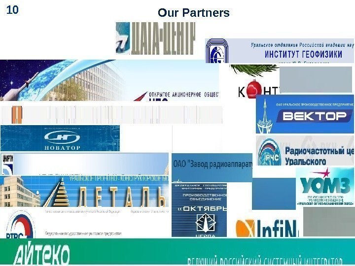 Our Partners 10