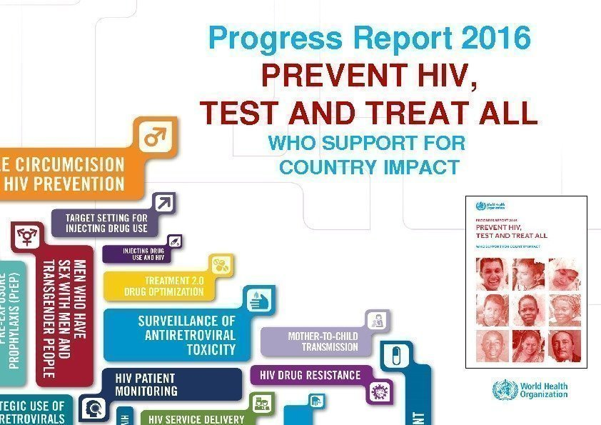 Excellent healthcare – locally delivered Progress. Report 2016 PREVENTHIV, TESTANDTREATALL WHOSUPPORTFOR COUNTRYIMPACT