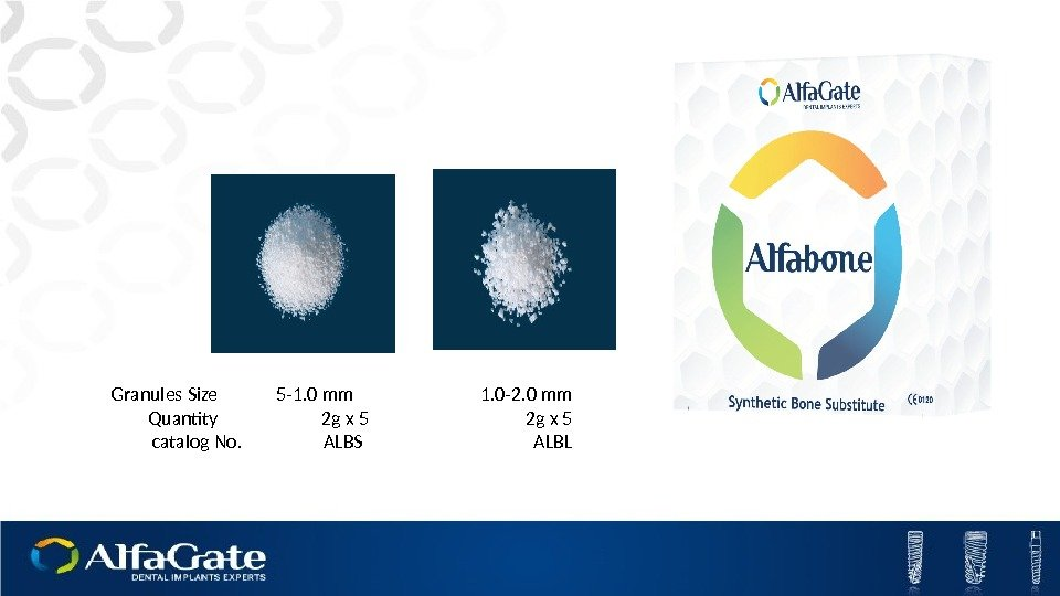 Granules Size   5 -1. 0 mm      1.