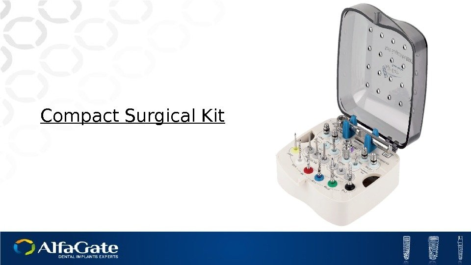 Compact Surgical Kit