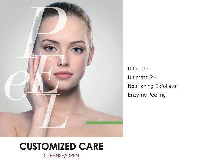 - for internal use only - Ultimate 2+ Nourishing Exfoliator Enzyme Peeling