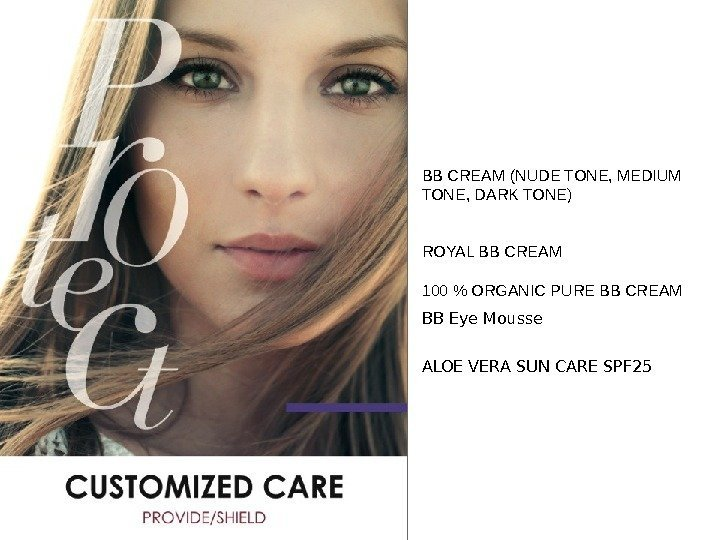 - for internal use only - BB CREAM ( NUDE TONE, MEDIUM TONE, DARK