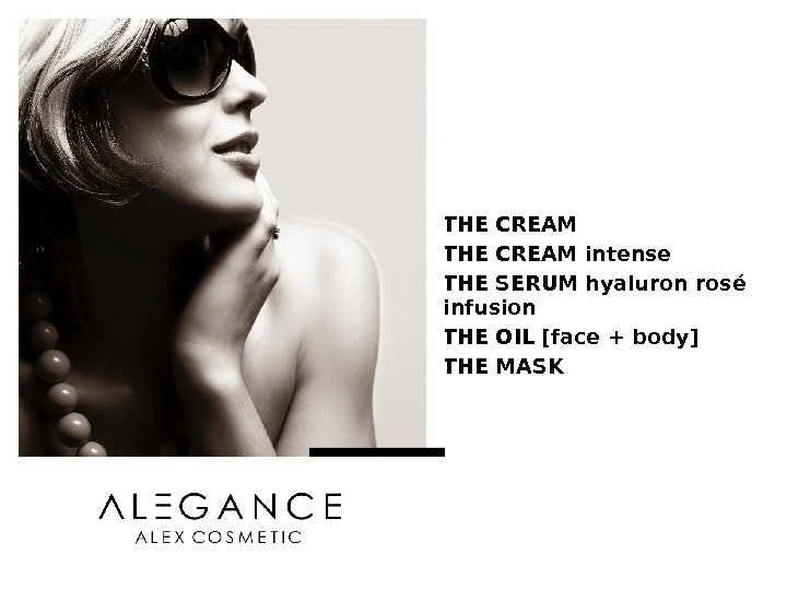 - for internal use only - THE CREAM intense THE SERUM hyaluron rosé infusion