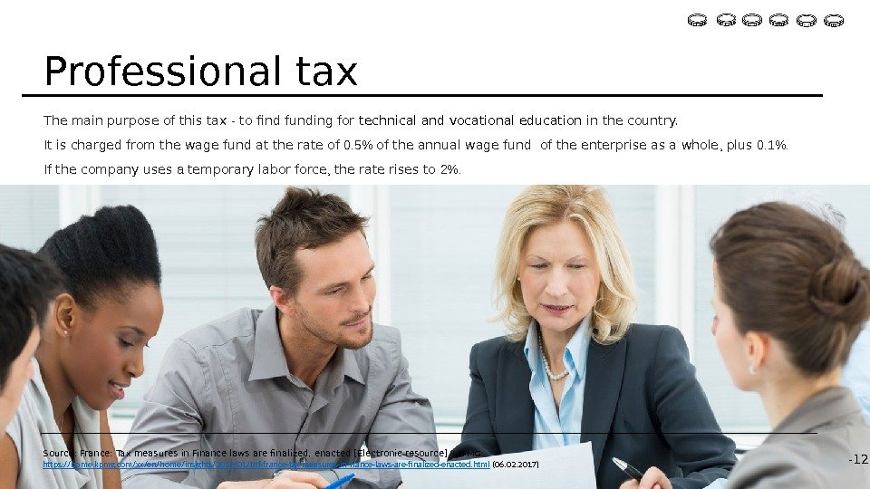 The main purpose of this tax - to find funding for technical and vocational