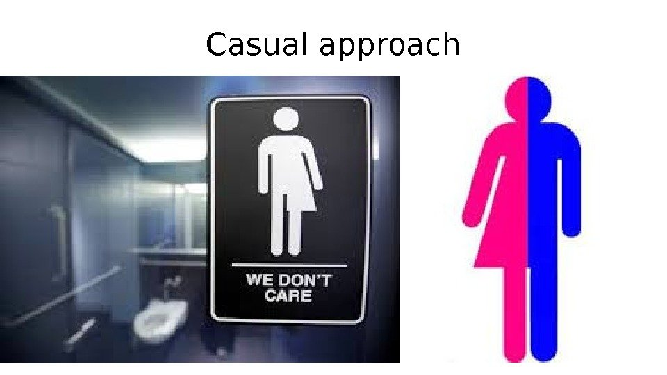 Casual approach