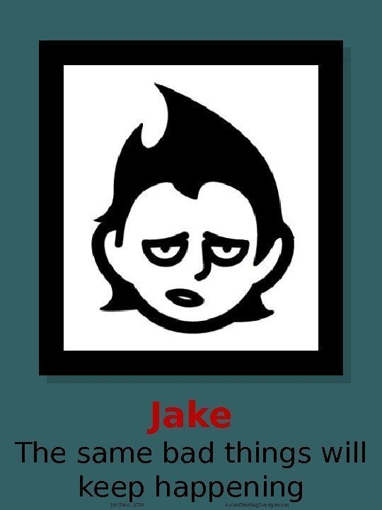 Jake The same bad things will keep happening Joel Shaul, LCSW Autism. Teaching. Strategies.