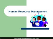 http: //www. themanagementskills. com 1 Human Resource Management